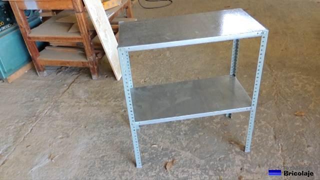 C mo hacer una mesa para la fresadora 1 parte la estructura - Mesa de trabajo metalica ...
