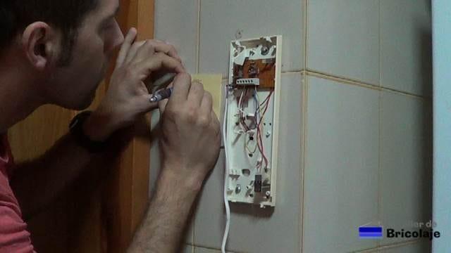 anotando las conexiones para no tener problemas al momento de instalarlo