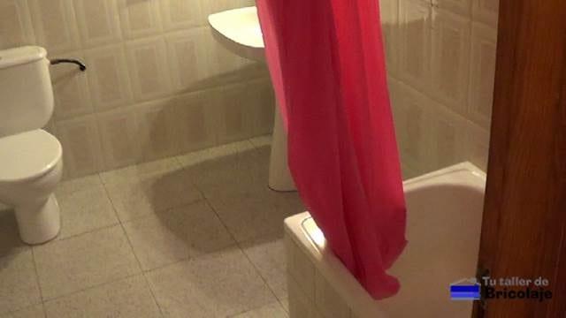 el baño antes del lavado de cara