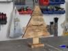 cómo hacer un sencillo árbol de navidad con madera de palets