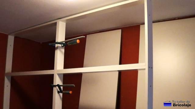 C mo hacer un armario empotrado a medida 1 parte la estructura - Como hacer armario empotrado ...