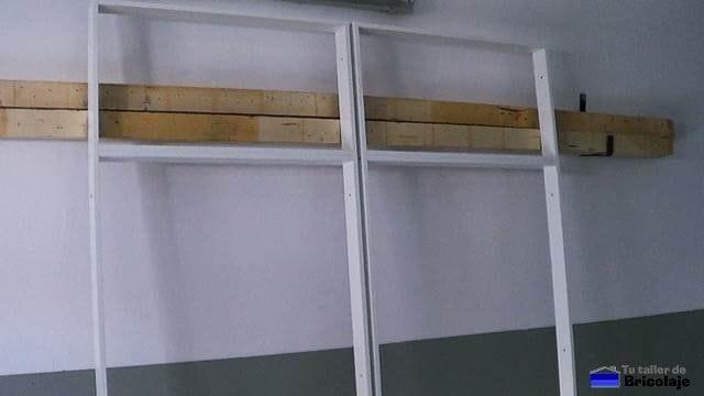 bastidor del armario empotrado