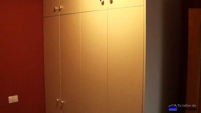 cómo hacer un armario empotrado a medida
