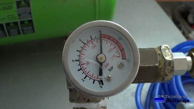 presión del compresor con el que aumentamos la capacidad