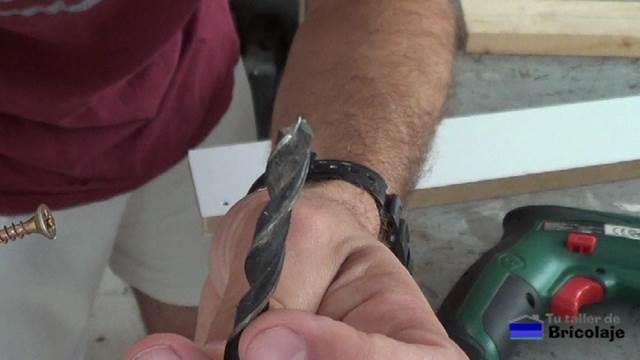 broca de madera del diámetro de la cabeza del tornillo para avellanar