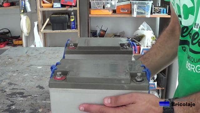 baterias a conectar en serie y en paralelo