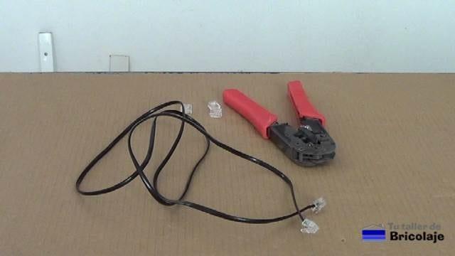 cómo hacer un cable de teléfono