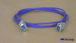 como hacer un cable vga macho macho