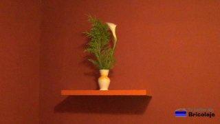 cómo hacer e instalar una repisa, balda o estante flotante