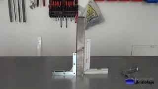 cómo hacer una escuadra magnética casera para soldar