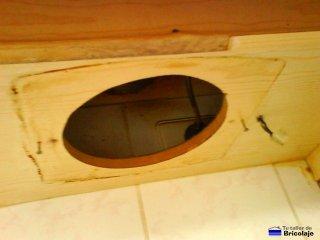 hueco donde colocar el nuevo extractor de aire para la cocina