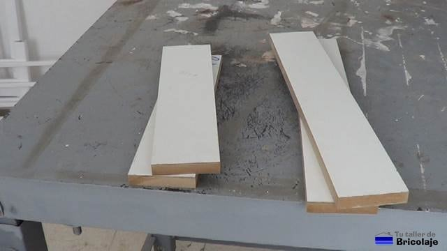 la madera a usar para fabricar la estrucutra