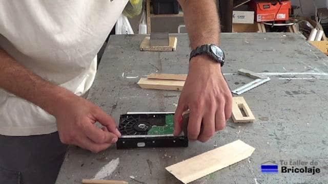 midiendo el disco duro
