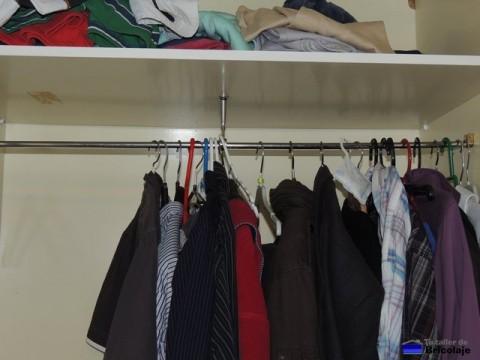 perchero del armario terminado