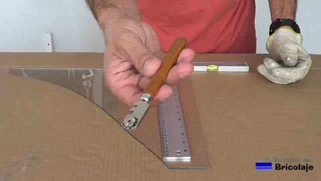 herramienta para cortar vidrio o cristal
