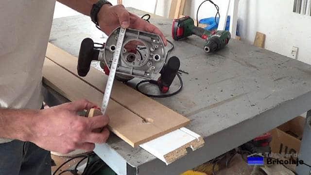 obteniendo las medidas de la base de la fresadora o router