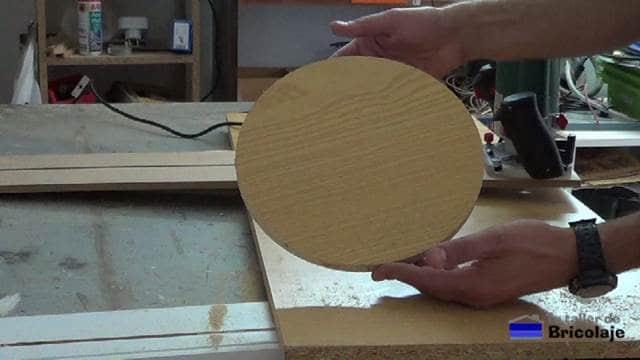 cortes circulares con la fresadora o router