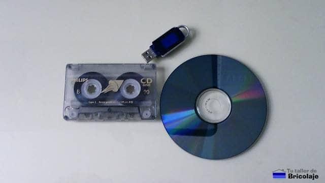 digitalizando el audio del cassette para pasarlo a cd