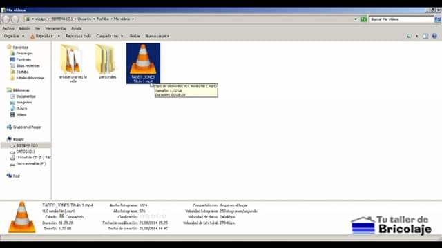 archivo convertido en mp4 desde un dvd