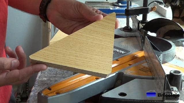 madera que vamos a usar para escuadrar