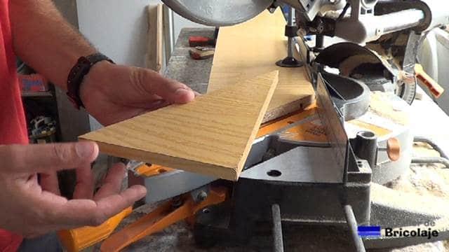 madera a escuadra