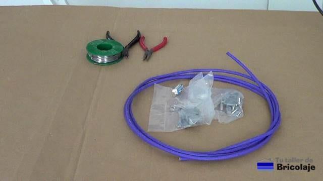 materiales necesarios para realizar el cable vga macho macho