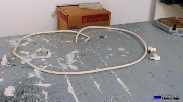 materiales necesarios para fabricar el cable coaxial para tv