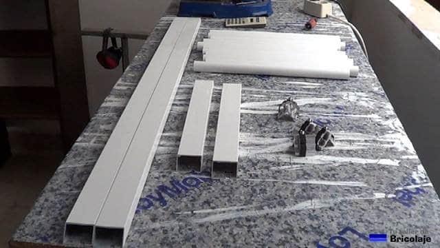 materiales necesario para fabricar la reja de aluminio