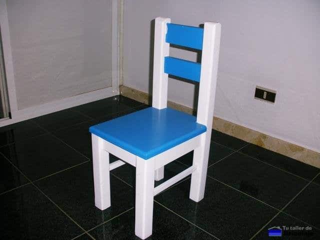 C mo hacer sillas de madera para ni os for Sillas para bebes de madera
