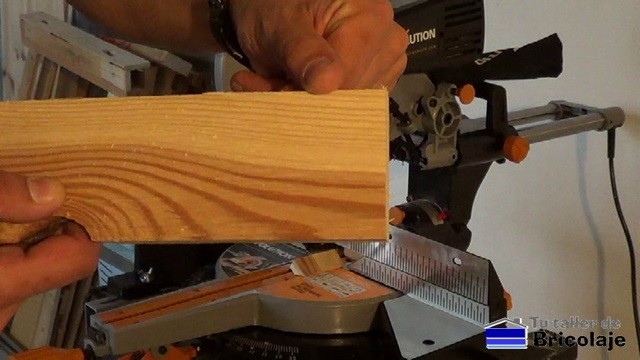 cortando aluminio