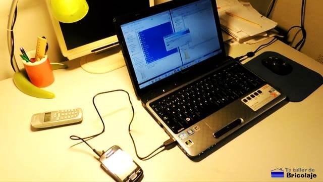 realizando la copia de seguridad de los datos de nuestro móvil o smartphone