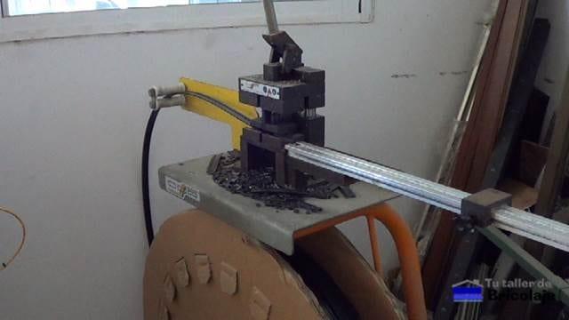 cortadora de pletinas