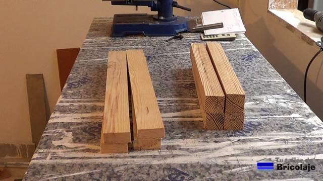 C mo hacer una mesa de centro 1 2 - Como hacer patas de madera para mesas ...