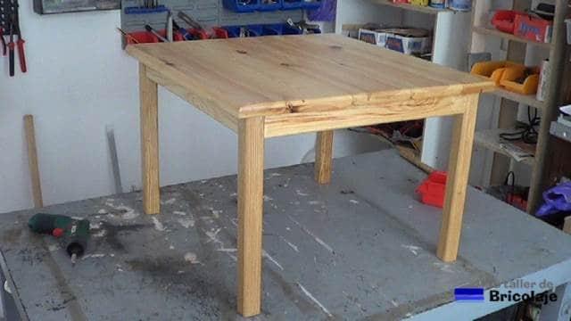 mesa centro terminada a falta de decorar