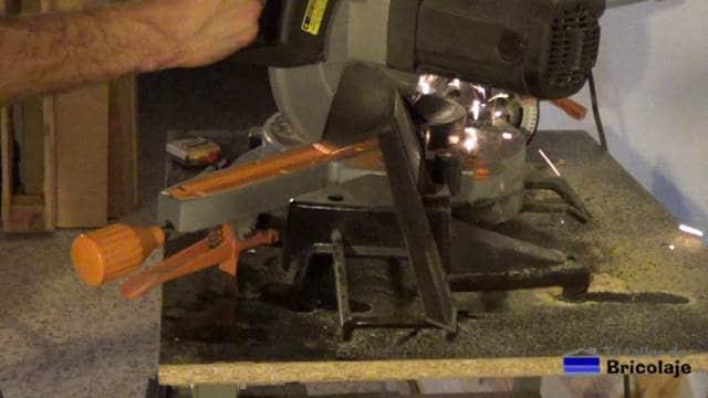 cortando el hierro