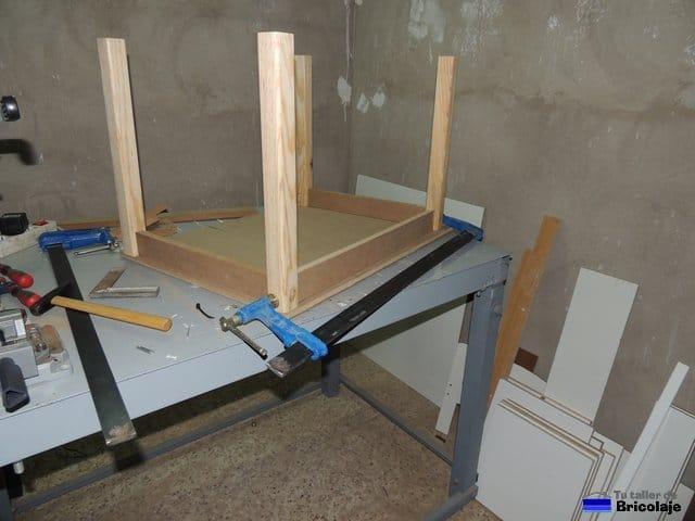 C mo hacer una mesa de madera para ni os - Construir una mesa de madera ...