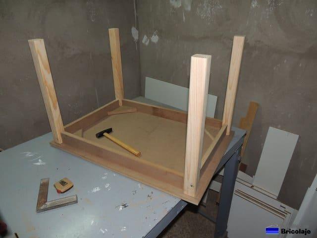 c mo hacer una mesa de madera para ni os