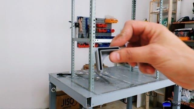 plástico protector para patas de estantería metálica
