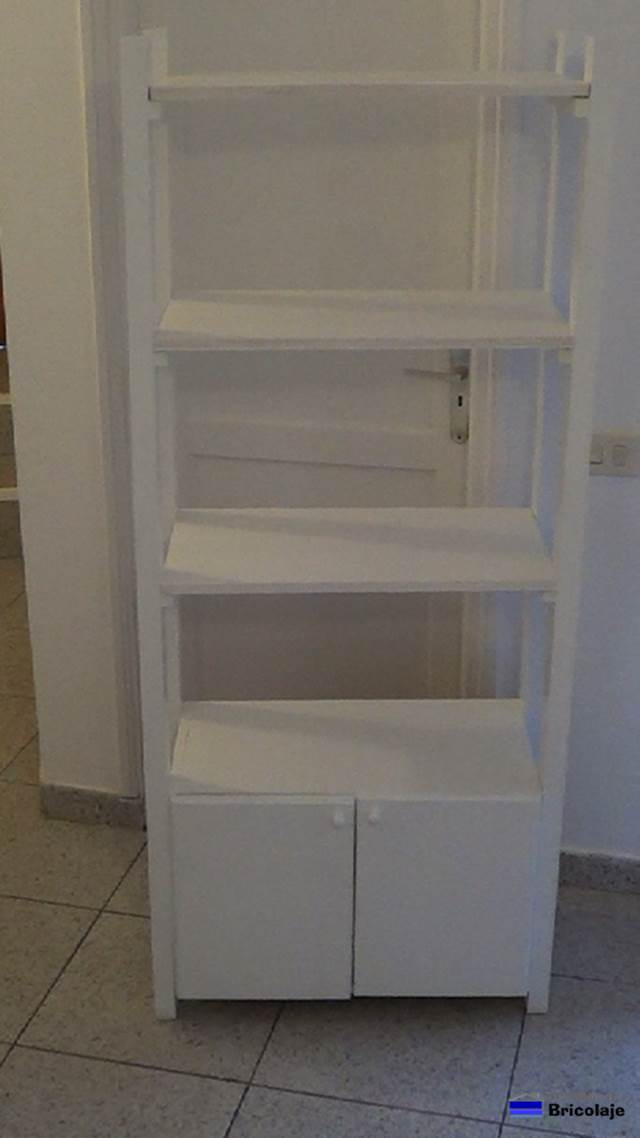C mo hacer un mueble auxiliar para ba o tipo columna for Auxiliares para bano