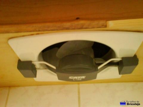 cómo instalar un extractor de aire para la cocina
