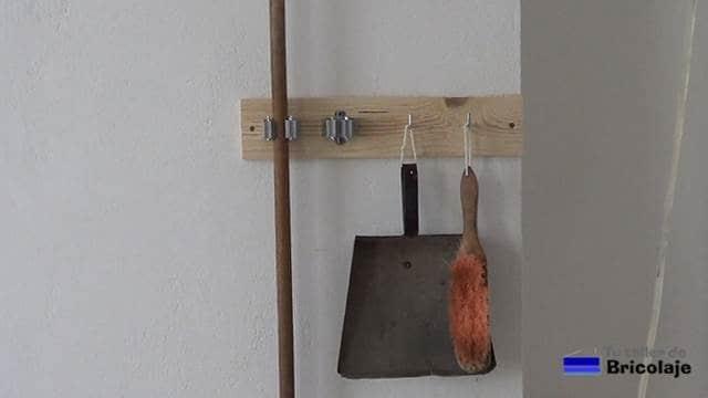 cómo organizar los utensilios de limpieza