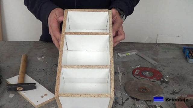 organizador de discos para la amoladora o radial