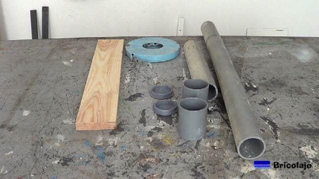 materiales necesarios para fabricar el organizador