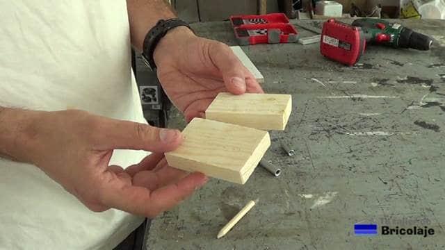 materiales necesarios para realizar la plantilla: madera