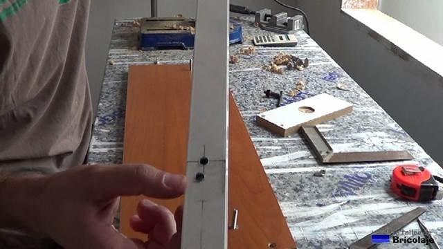 agujeros para abrir agujeros de 25 y 35 para bisagras de cazoleta