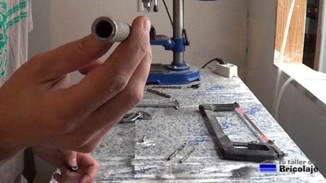 manguito de empalme o unión usado en electricidad