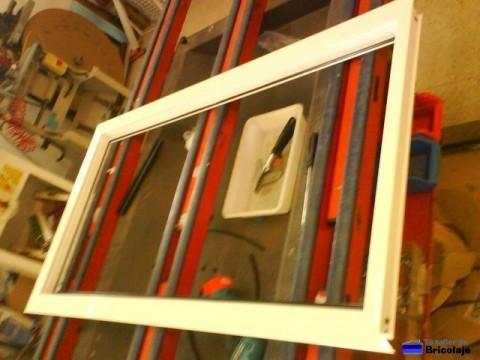marco de la puerta de aluminio totalmente montado