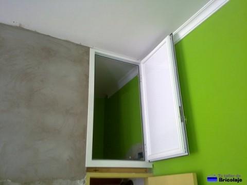 puerta de aluminio para altillo