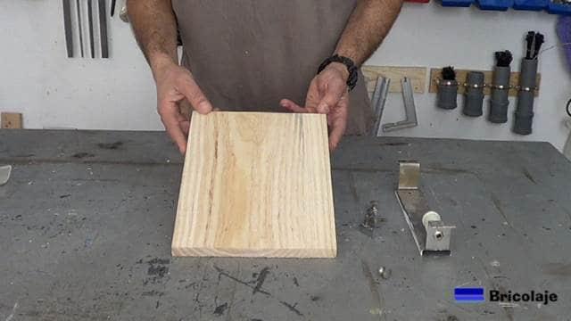 trozo de madera de pino