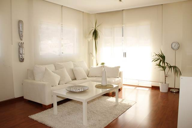 Ideas para reformar la casa sin realizar obras - Color marfil en paredes ...